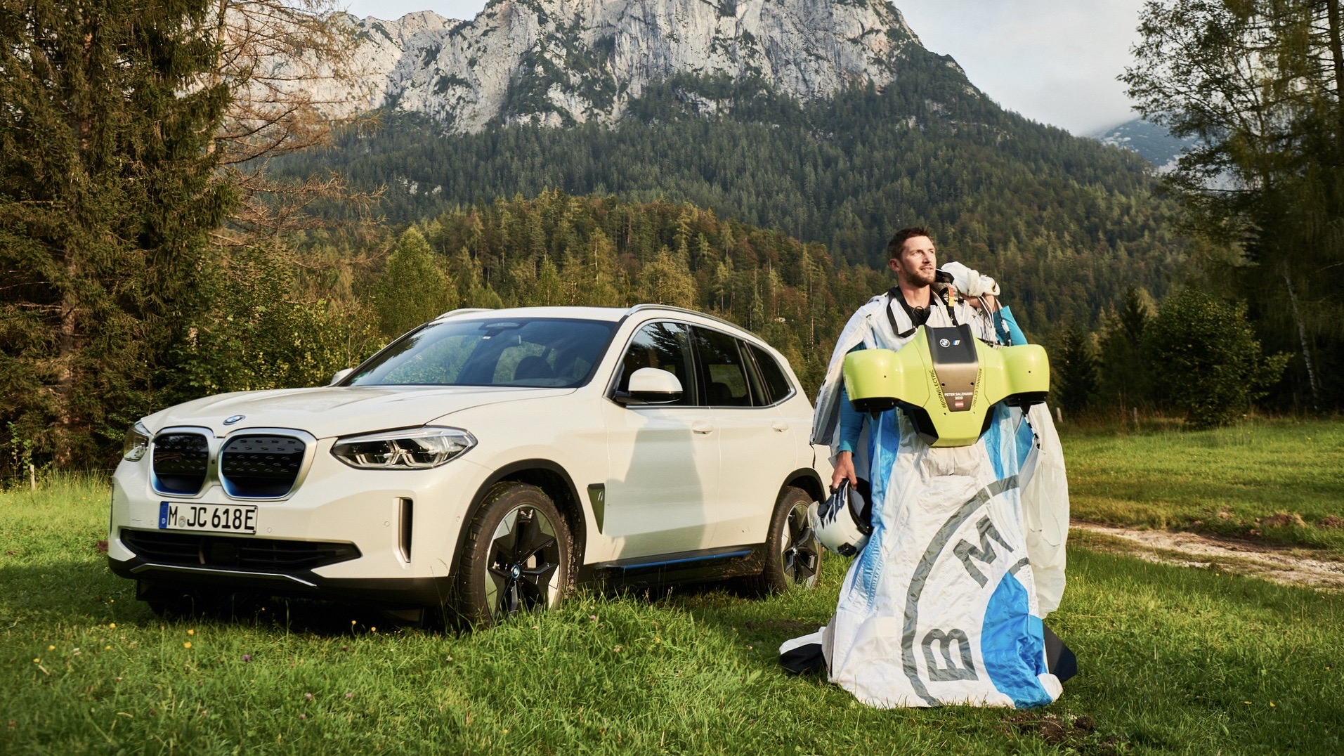 BMW dévoile une combinaison électrique volante