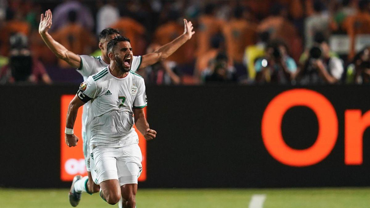 L'Algérie se qualifie pour la CAN grâce à Delort et Mahrez
