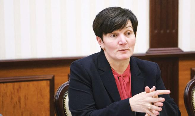 Stephanie von Friedeburg, directrice des opérations de la SFI.
