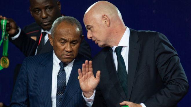 Football / Le président de la Confédération africaine Ahmad Ahmad suspendu cinq ans par la Fifa