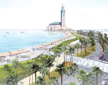 Casablanca : Aménagement de la corniche Aïn Sebaâ-Sidi Bernoussi
