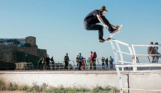 Les sports urbains, des moyens d'expression et d'épanouissement pour les jeunes