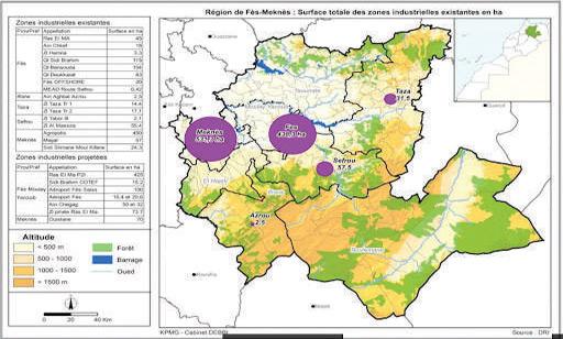 Fès-Meknès : Zones industrielles en cours d'aménagement