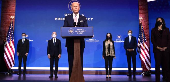 Etats-Unis : Biden présente son équipe et annonce « le retour de l'Amérique »