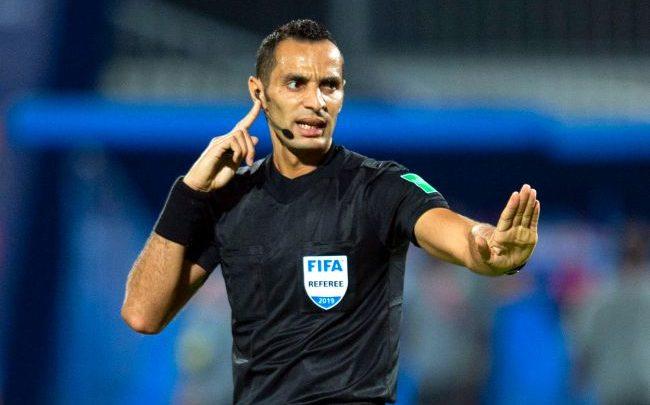 L'arbitre algérien Mustapha Ghorbal