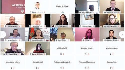 Marrakech / Covid-19 : Les répercussions juridiques en conférence internationale