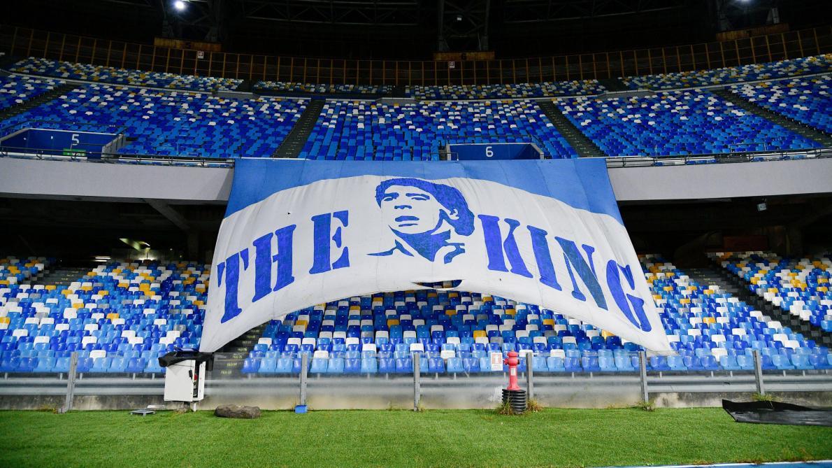 Le stade de Naples officiellement rebaptisé du nom de Diego Armando Maradona