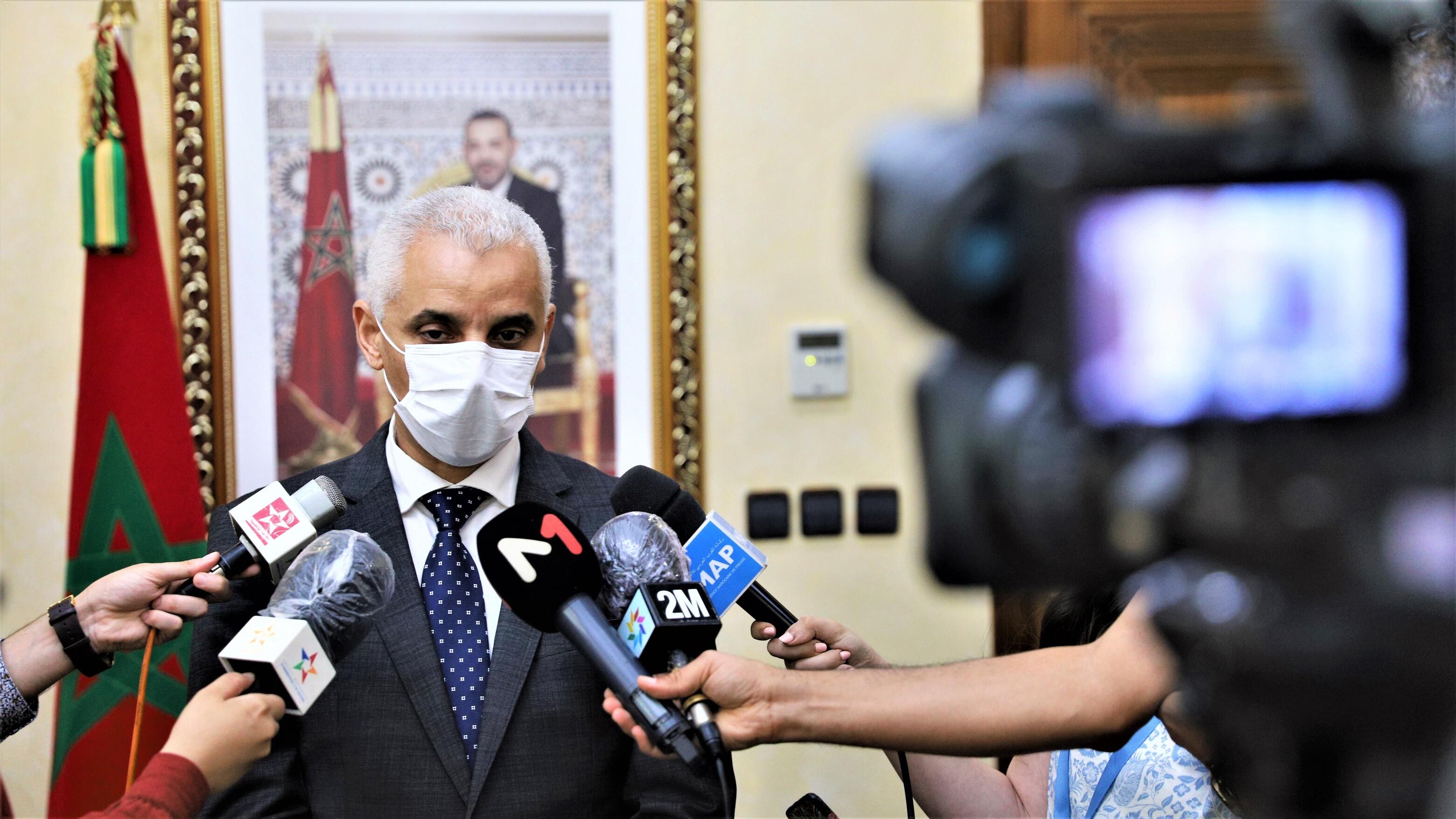 Ait Taleb appelle les Marocains à se faire vacciner pour atteindre l'immunité collective