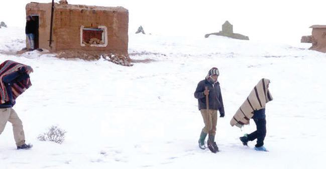 Ouarzazate : Panoplie de mesures contre la vague de froid