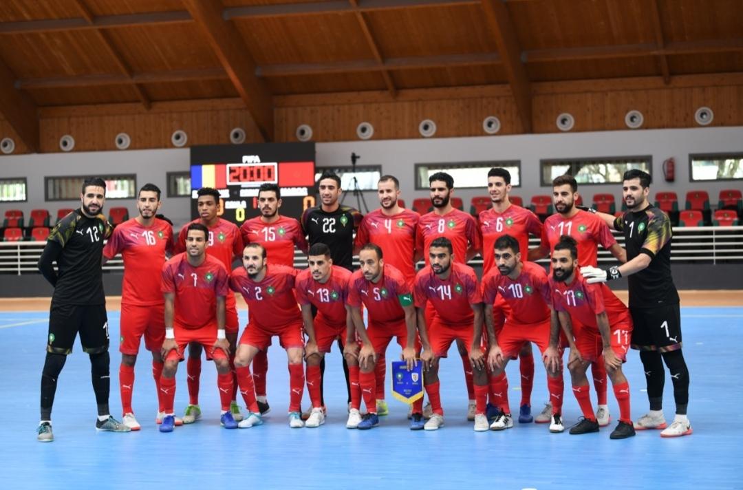 Futsal/Amical : nouvelle victoire du Maroc face à la Roumanie (5-2)