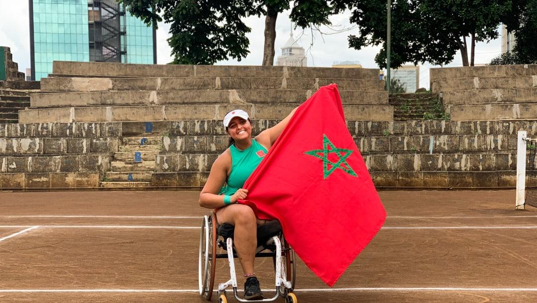 Handisport : Najwa Awane élue membre de la Commission des athlètes de l'ITF (International Tennis Federation)