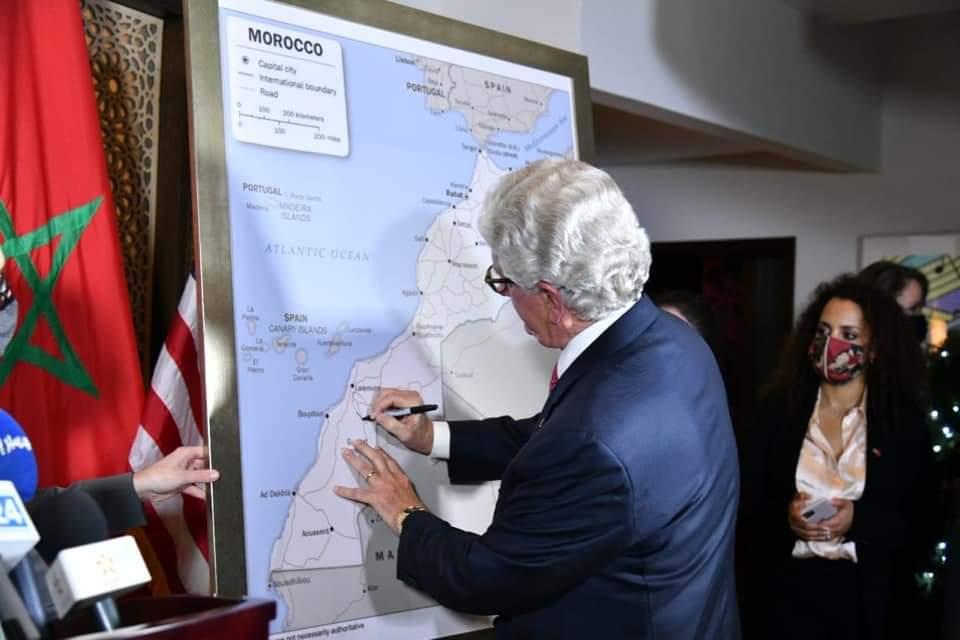 Les Etats-Unis adoptent une carte du Maroc intégrant le Sahara marocain
