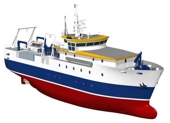 Maquette du navire