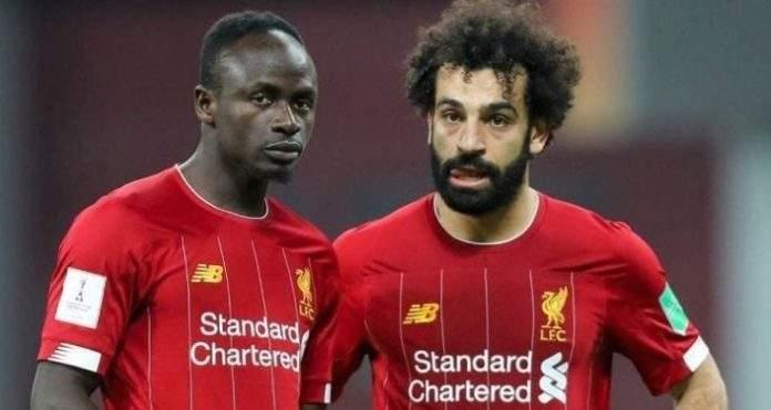 The Best FIFA 2020 :  Sadio Mané 4ème, Mohamed Salah 6ème