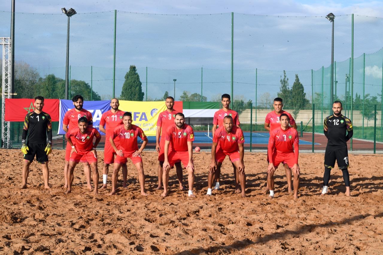 Beach soccer/Amical : La sélection marocaine s'impose face à son homologue émiratie