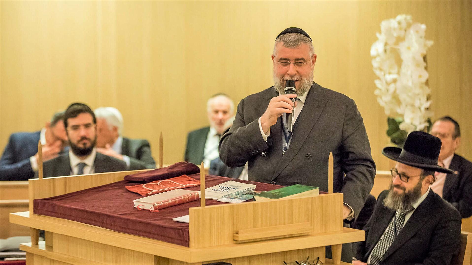 """La politique """"courageuse"""" du Souverain saluée par la Conférence des rabbins européens"""