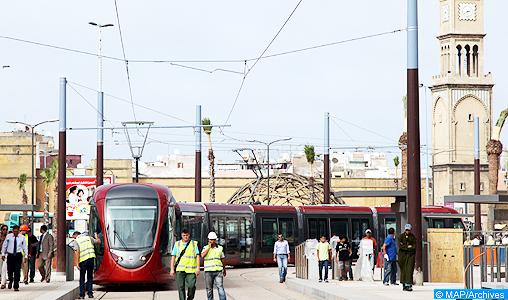 Casablanca: La ligne T1 du tramway toujours suspendue au centre-ville