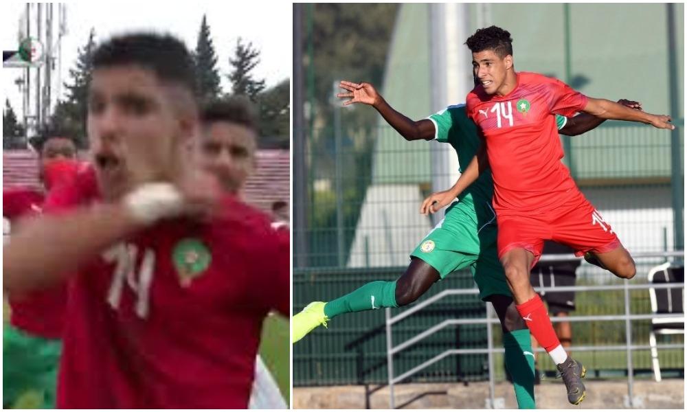 El Mehdi Mouhoub suspendu pour deux matchs, l'Algérie battue jubile