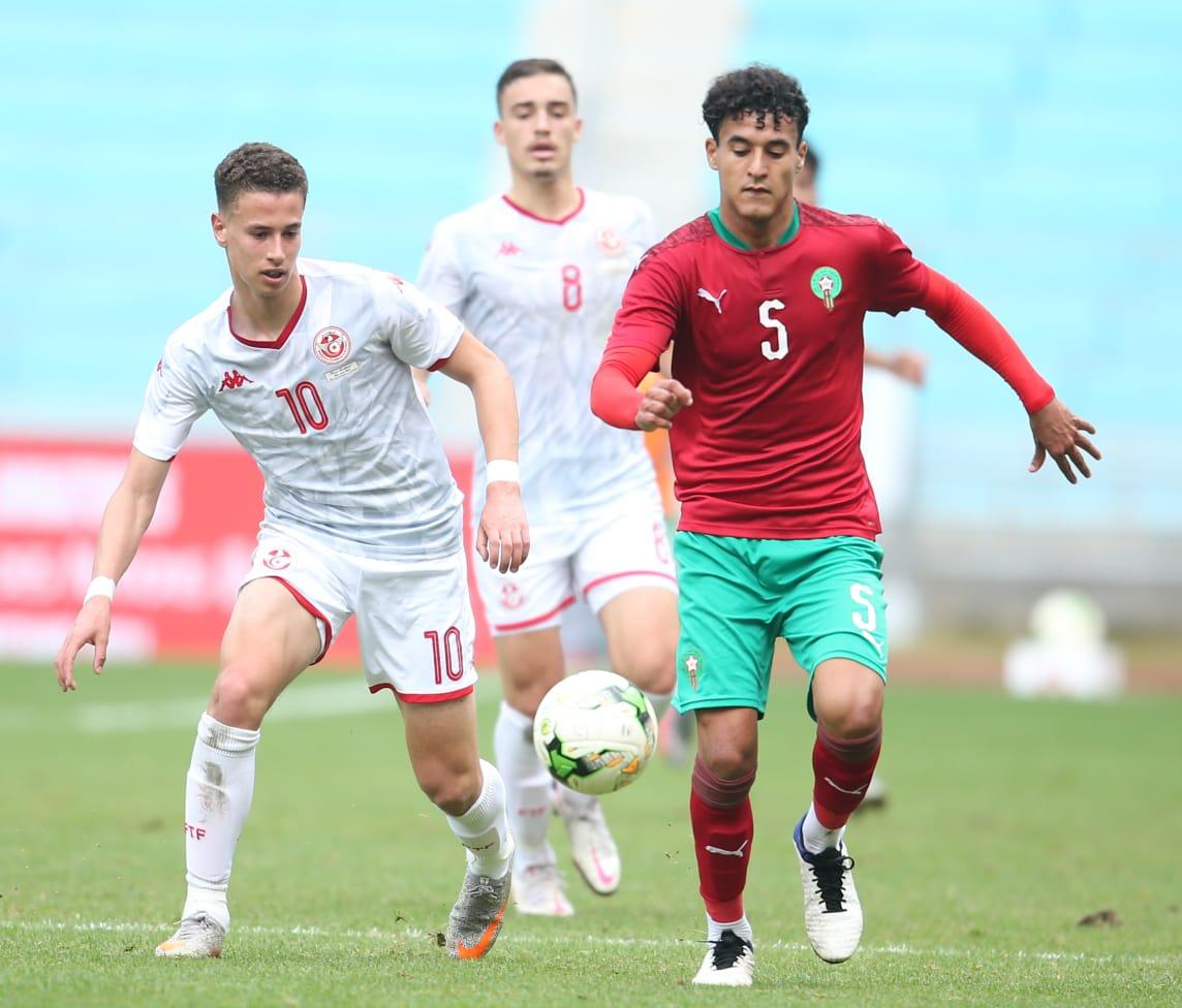 Tournoi UNAF  U20 (Q) : Le Maroc et la Tunisie se neutralisent et gardent espoir