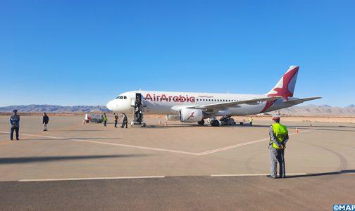 Inauguration de la ligne Casablanca-Guelmim de Air Arabia