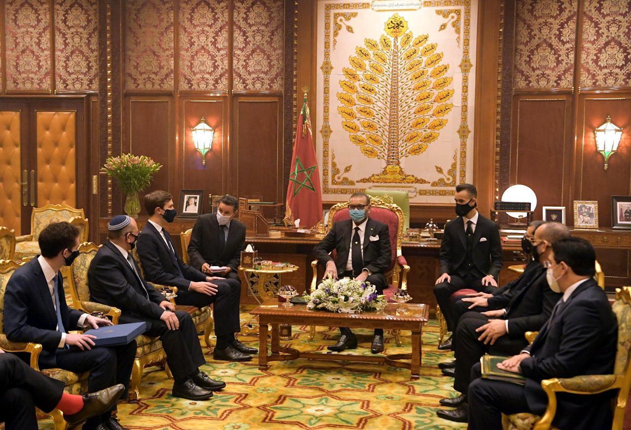 SM le Roi a reçu au Palais Royal une délégation américano-israélienne