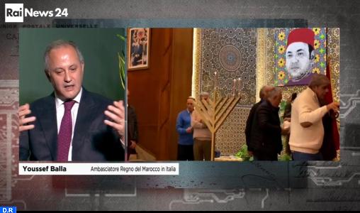 """Youssef Balla : le Maroc a toujours joué un """"rôle central"""" dans le processus de paix au Moyen-Orient"""