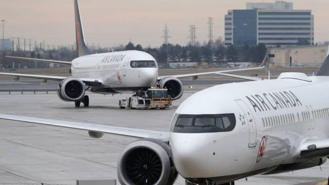 Un Boeing 737 MAX dérouté à cause d'un problème de réacteur