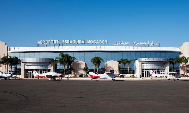 Nouvelle variante du Covid-19 : Renforcement des mesures sanitaires à l'aéroport Essaouira-Mogador