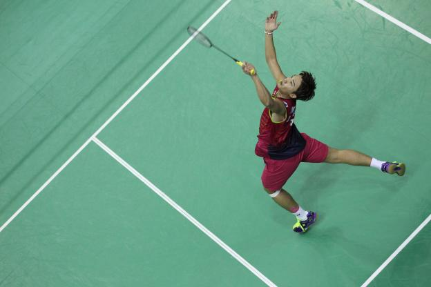 Badminton: Le N°1 mondial Kento Momota sacré au Japon