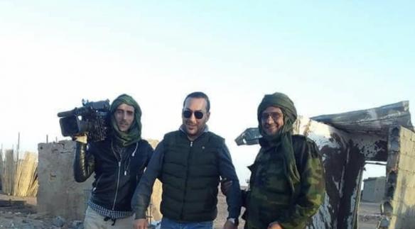 Une scène de guerre au Sahara fruit de l'imagination des médias algériens