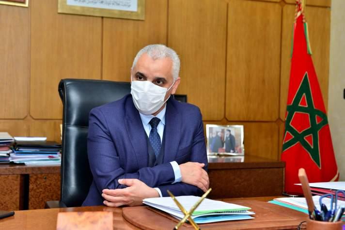 Situation épidémiologique et campagne de vaccination : les nouvelles confidences de Khalid Ait Taleb