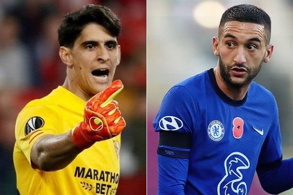 """Bounou et Ziyech en lice pour le prix du """"Joueur maghrébin de l'année"""" de France Football"""