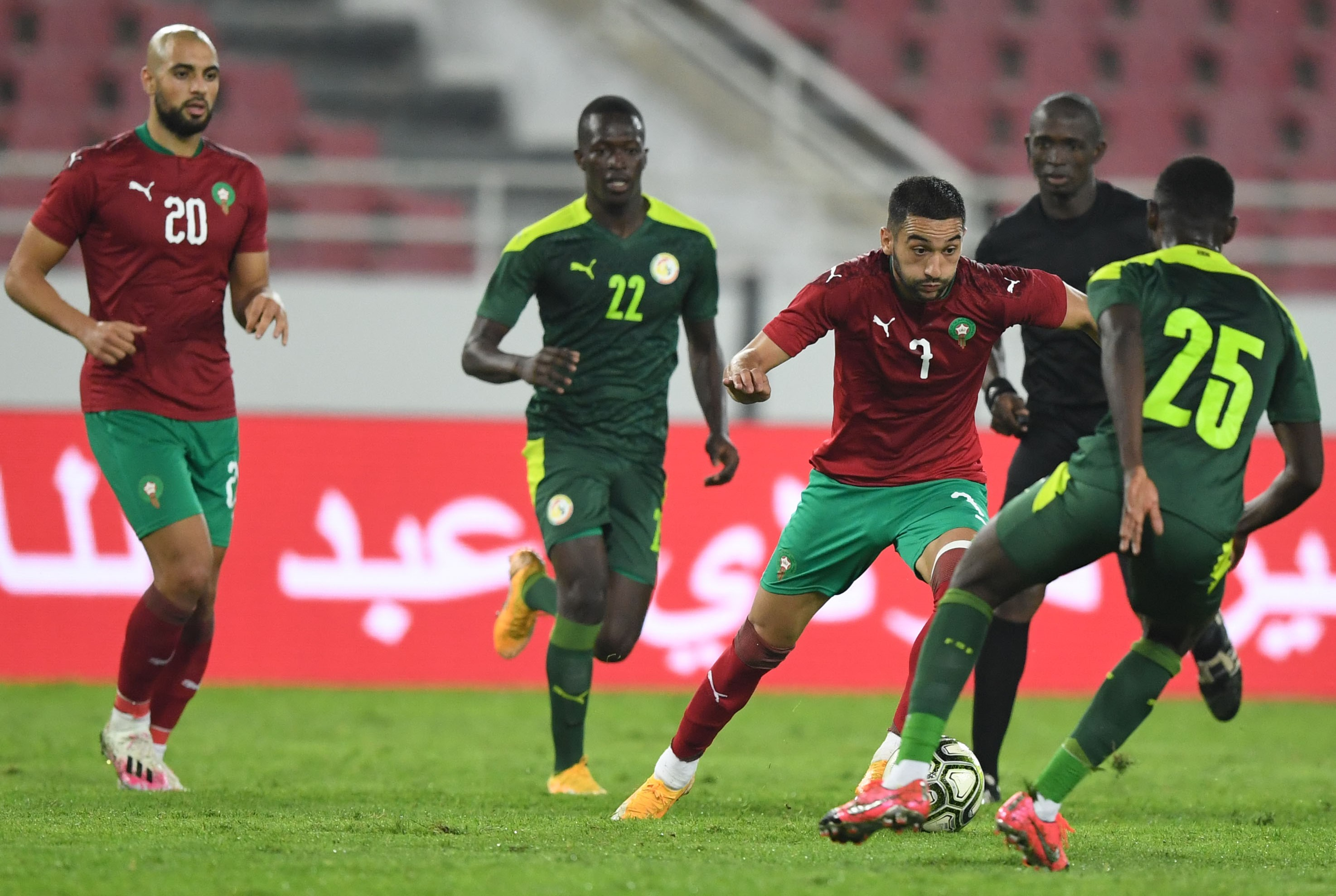 Meilleur footballeur maghrébin : Ziyech, Hakimi, Bounou et Sofiyane Amrabat nominés