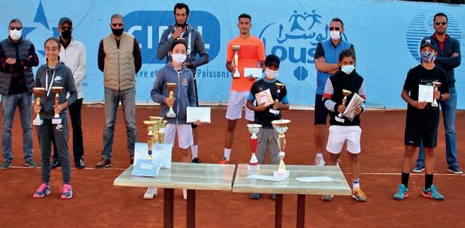 - La cérémonie de remise des Prix du tournoi interne du R.T.C. Agadir