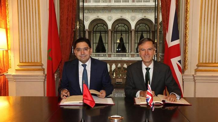 Maroc - Royaume Uni : l'Accord d'Association entre en vigueur