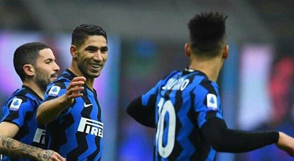 Serie A : L'Inter Milan domine Crotone (6-2), Achraf Hakimi buteur