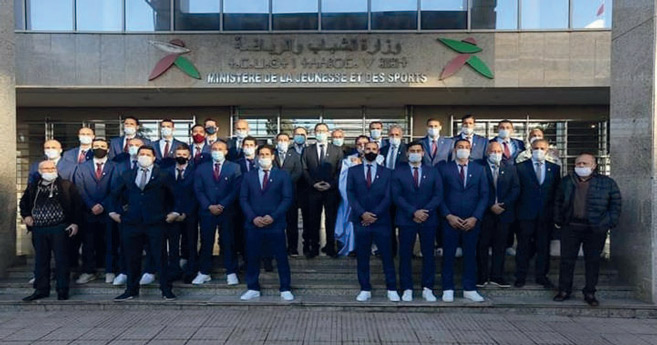 Handball : Le team national hôte de la Turquie