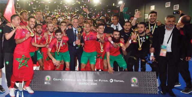 Équipe nationale Futsal Championne d'Afrique