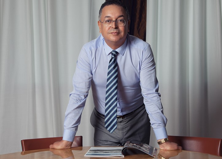 Lahcen Haddad, ex-ministre et député actuel du Parti de L'Istiqlal.