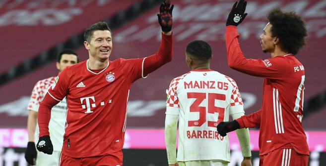 Bundesliga : Le Bayern se rebiffe, Lewandowski hors concours