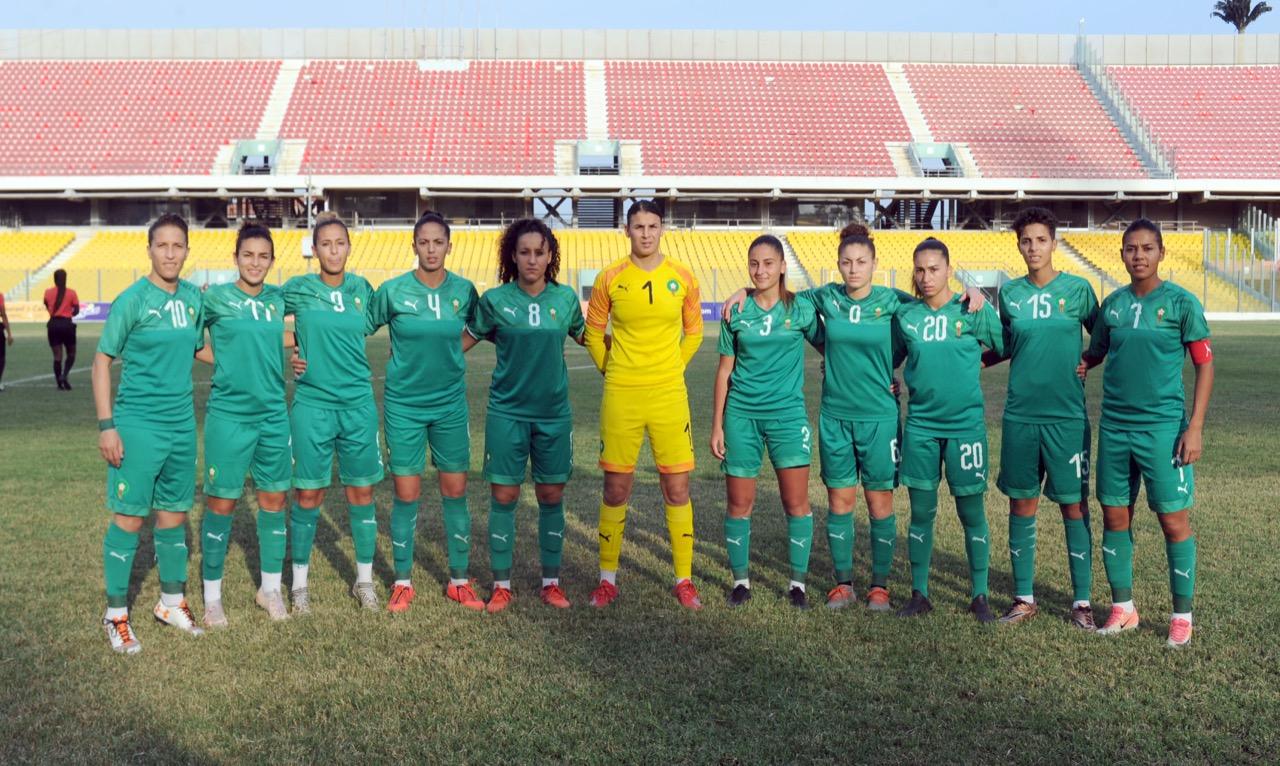 Football féminin : La sélection nationale en stage de préparation à Maâmoura