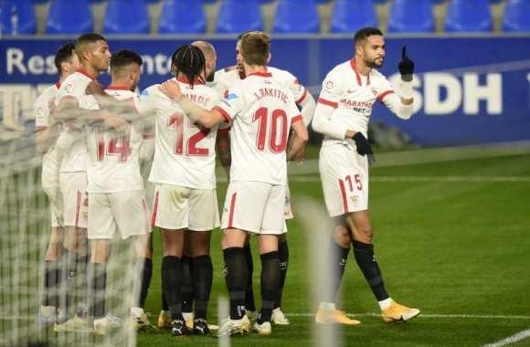 Un triplé d'En-Nesyri face au Real Sociedad