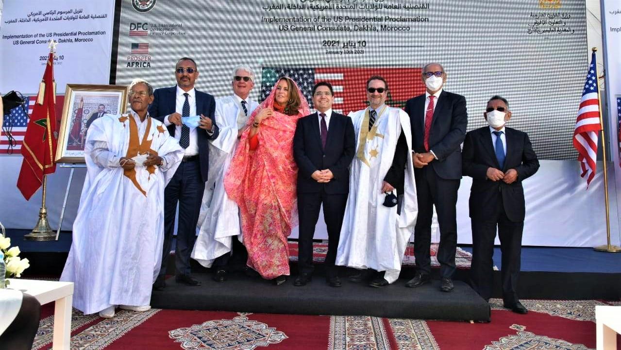 Consulat américain à Dakhla : la Marocanité du Sahara gravée dans le marbre