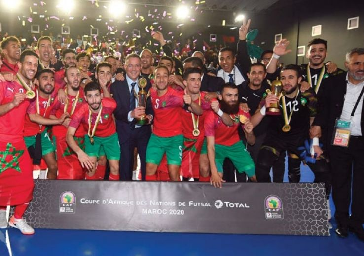 Vu et lu sur le site de la FRMF : Le futsal marocain nominé parmi les meilleurs mondiaux