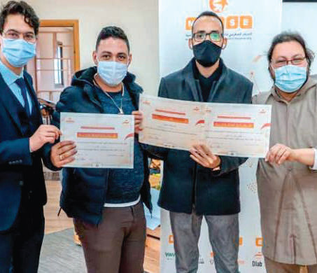 Entrepreneuriat : Un groupe de lycéens remporte la compétition de Tamkeen Initiative
