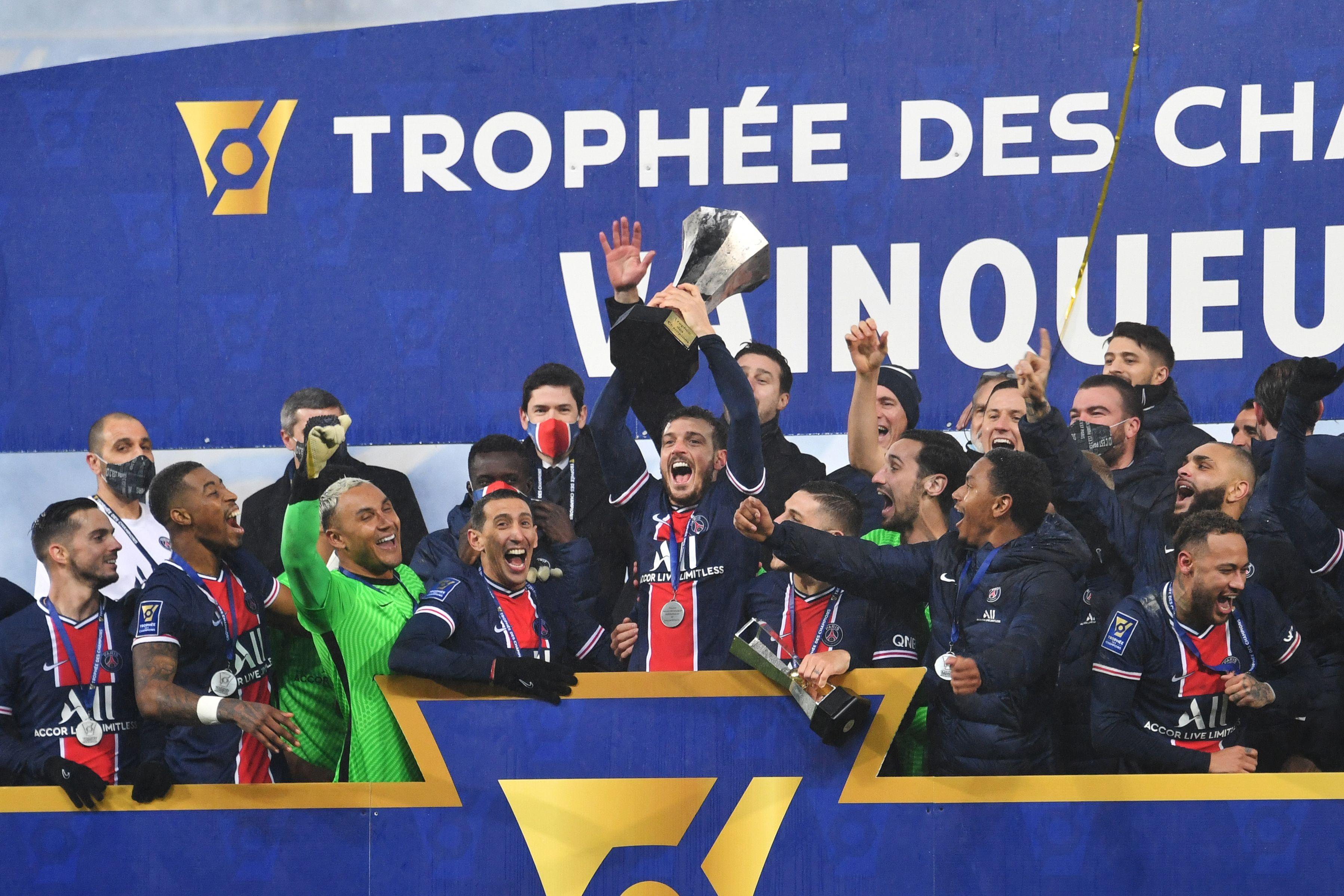 Trophée des champions: Le Paris SG remporte le titre aux dépens de Marseille