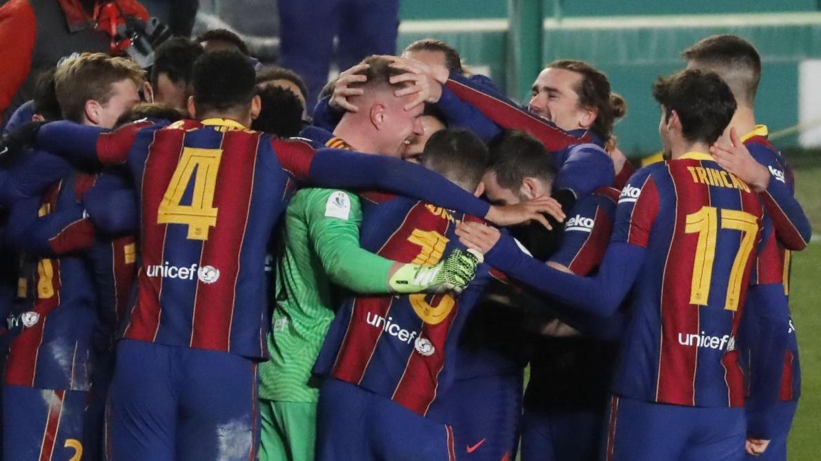 Supercoupe d'Espagne: Le Barça bat la Real Sociedad et passe en finale