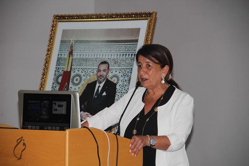 Rkia Alaoui, présidente du CRT TTA