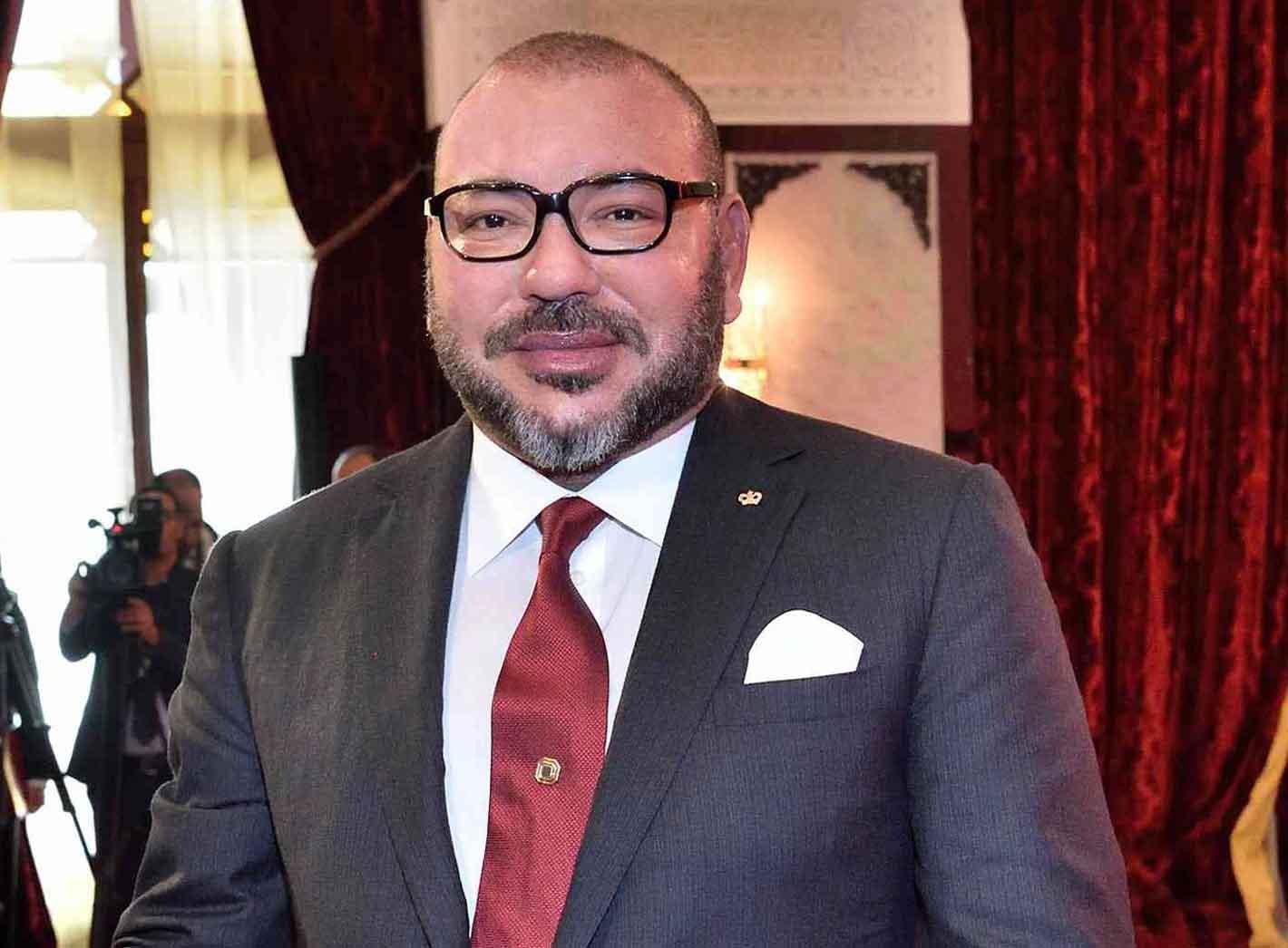 """SM Le Roi Mohammed VI décoré de la """"Legion of Merit, Degree Chief Commander"""""""
