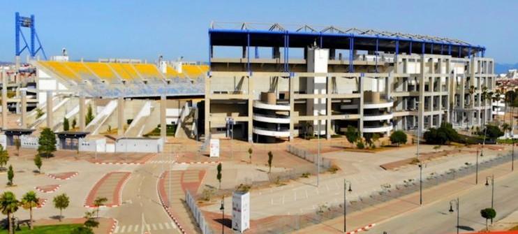 La rénovation du grand stade de Tanger